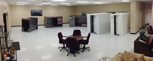 "Want to see our shelters and give them a ""test drive?"" Come to our showroom in Madison or Tupelo."