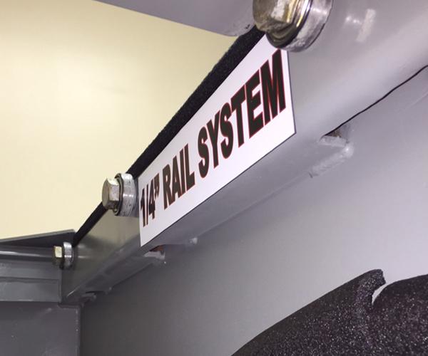 Quarter Inch Rail System