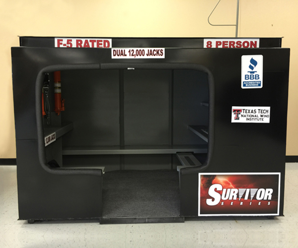 4x7 Survivor In-Ground Shelter
